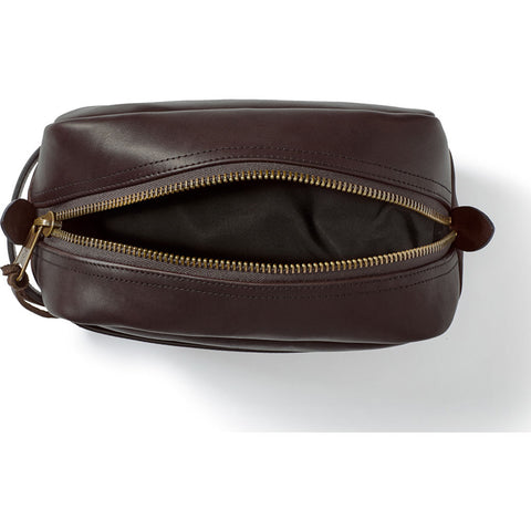 Filson Weatherproof Leather Travel Dopp Kit | SierraBrwn 20049229SierraBrwn