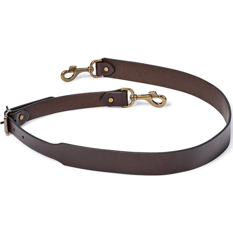Filson Wide Leather Shoulder Strap | Brown 20053478Brown