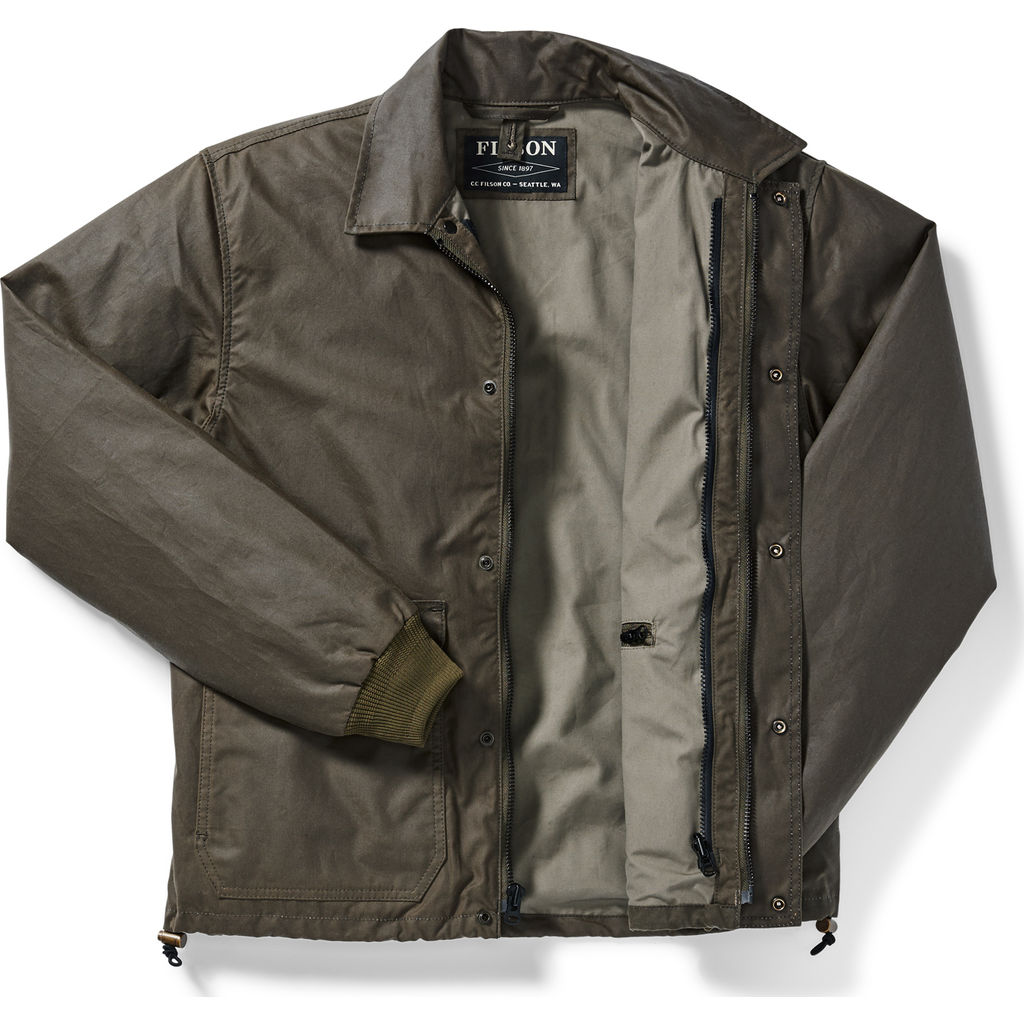 Filson Men's Cover Cloth Aberdeen Work Jacket