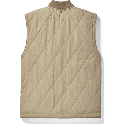 Filson Quilted Pack Vest | GreyKhaki 20076935GreyKhaki Size: XS
