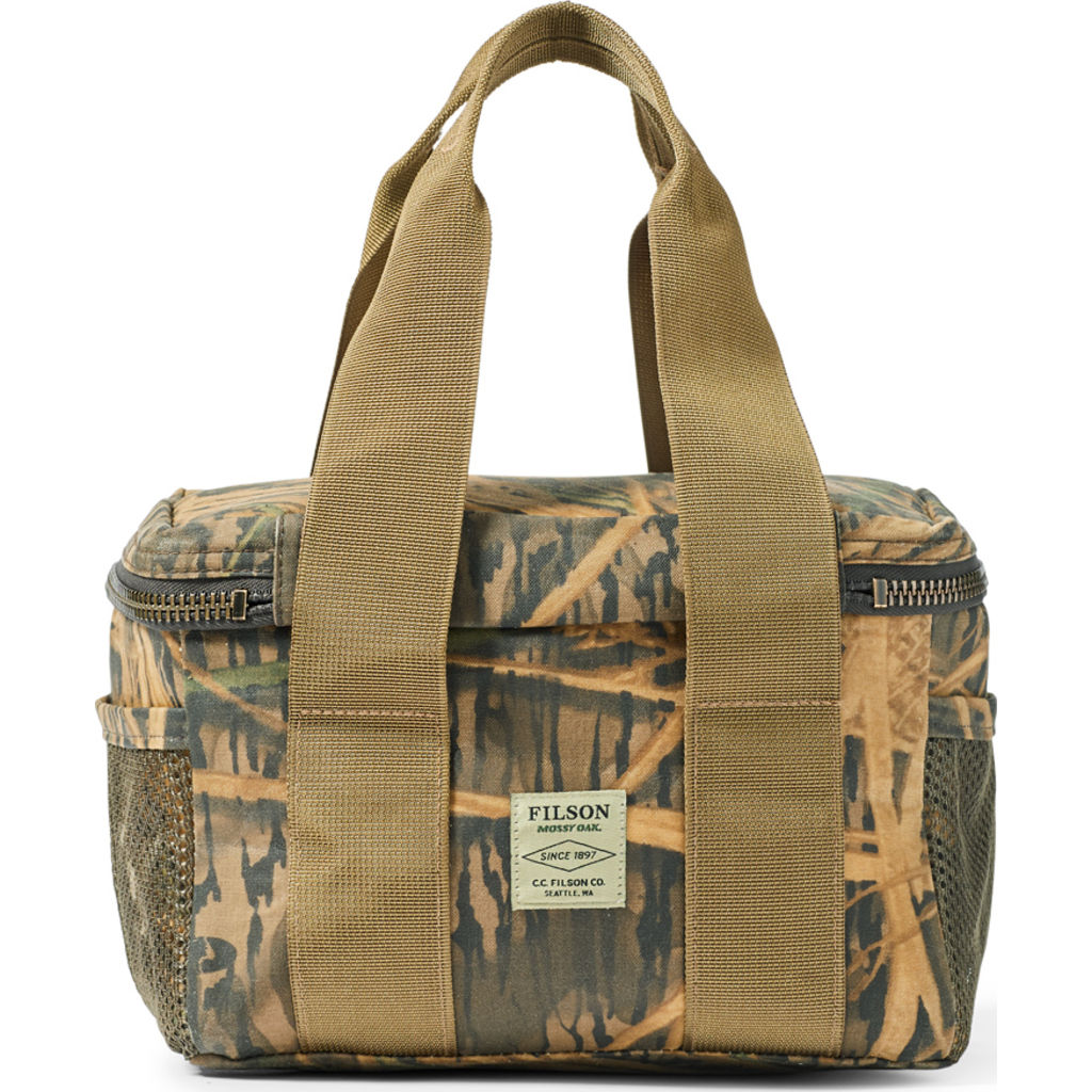 Filson Camo Tin Cloth Soft Sided Lunch Cooler | Shadow Grass