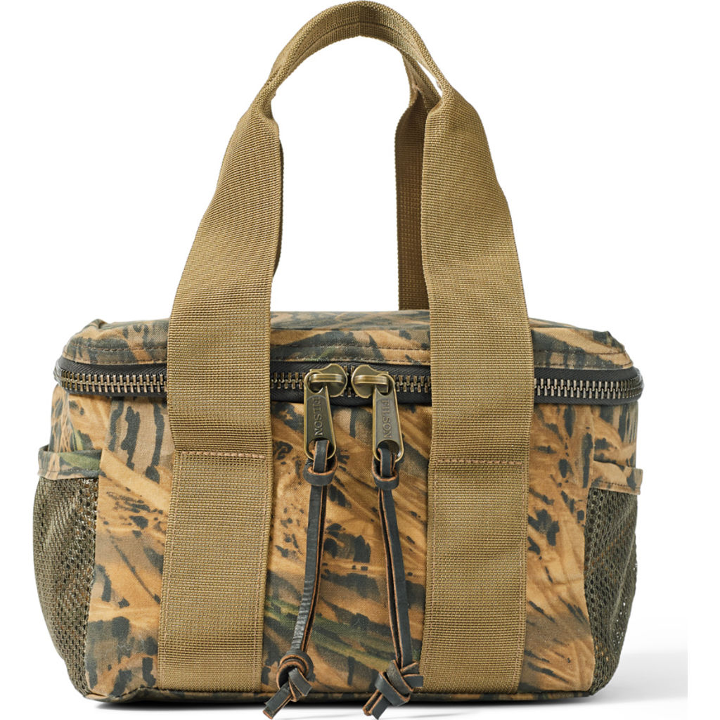 Filson Camo Tin Cloth Soft Sided Lunch Cooler - Shadow Grass