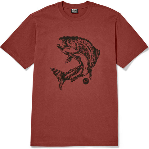Filson Short Sleeve Outfitter Graphic Tee | Whiskey- 20105782--XXL