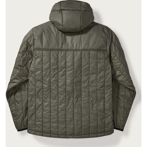 Filson Men's Ultralight Hooded Jacket | Olive Gray