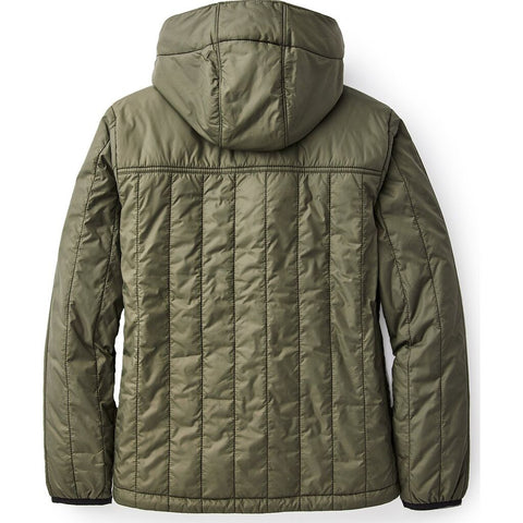 Filson Women's Ultralight Hooded Jacket | Olive Gray