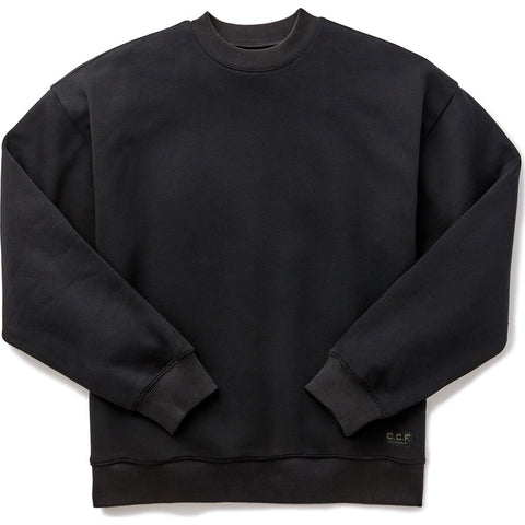 Filson Men's C.C.F. Crew Neck Sweatshirt | Black