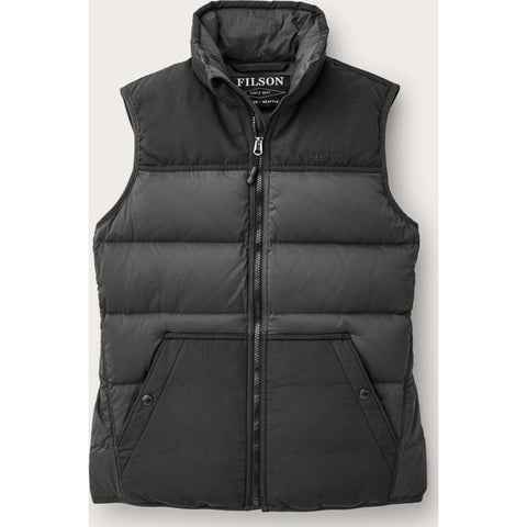 Filson Women's Featherweight Down Vest | Faded Black