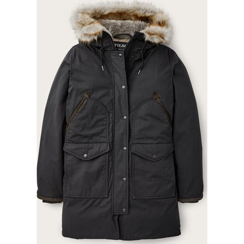Filson Women's Alaska Down Parka | Faded Black