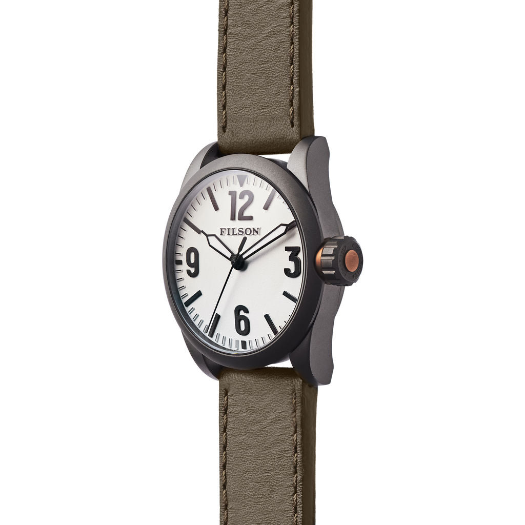 Filson Standard Issue Field Watch | White/Hunter Green 20125929White