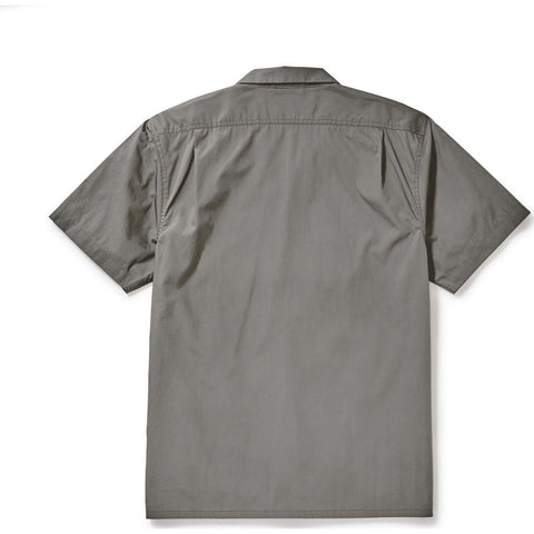 Filson Men's Feather Cloth Short Sleeve Camp Shirt - Olive