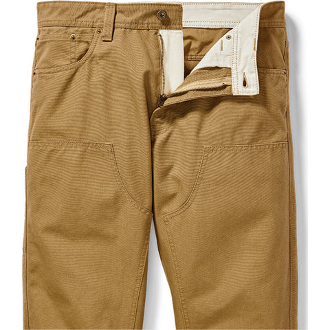 Filson Men's Dry Tin Utility 5 Pocket Pant | Golden Tan