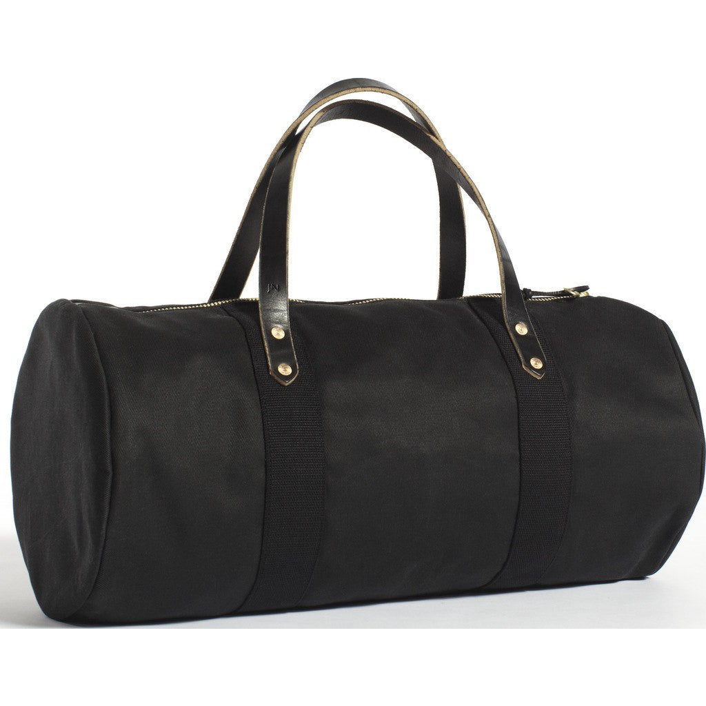 Joshu+Vela Weekender Duffel Bag | Black Twill
