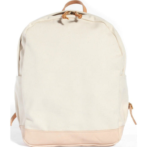 Joshu+Vela Small Zip Backpack | Natural JV0150-NATU