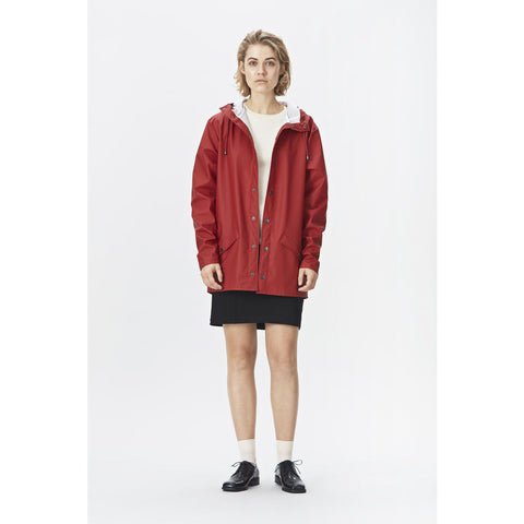 Rains Waterproof Jacket | Scarlet