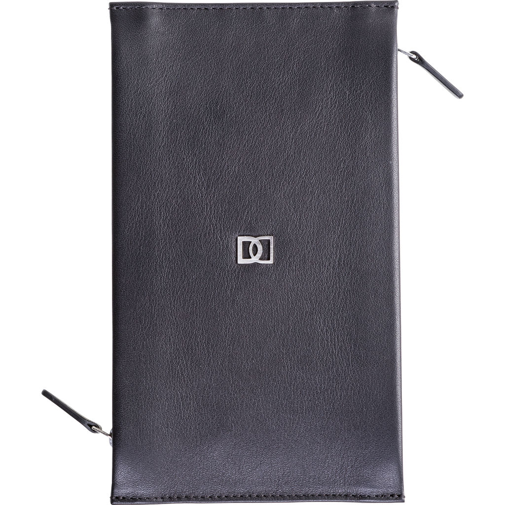 DUN Wallets DUO Double Zip Travel Wallet
