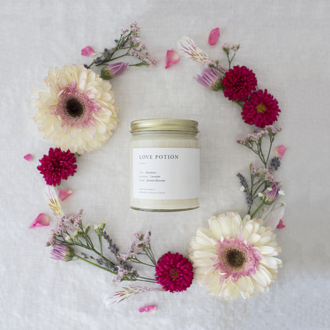Brooklyn Candle Studio Minimalist Candle | Love Potion MI012