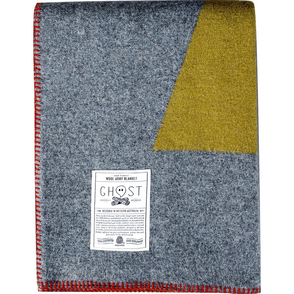 Ghost Outdoors Australia Army Blanket | Bibbulmun