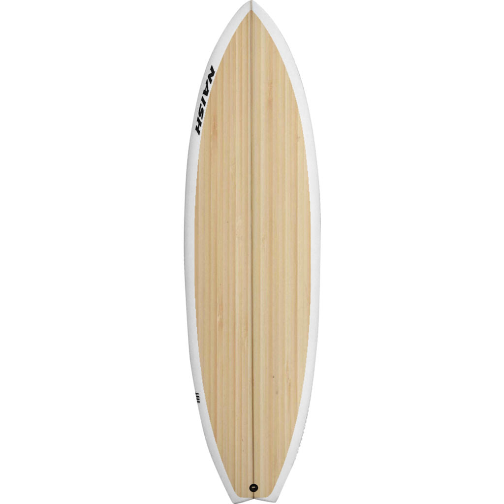 Naish Hover Surf Foilboard in Natural Wood - Sportique