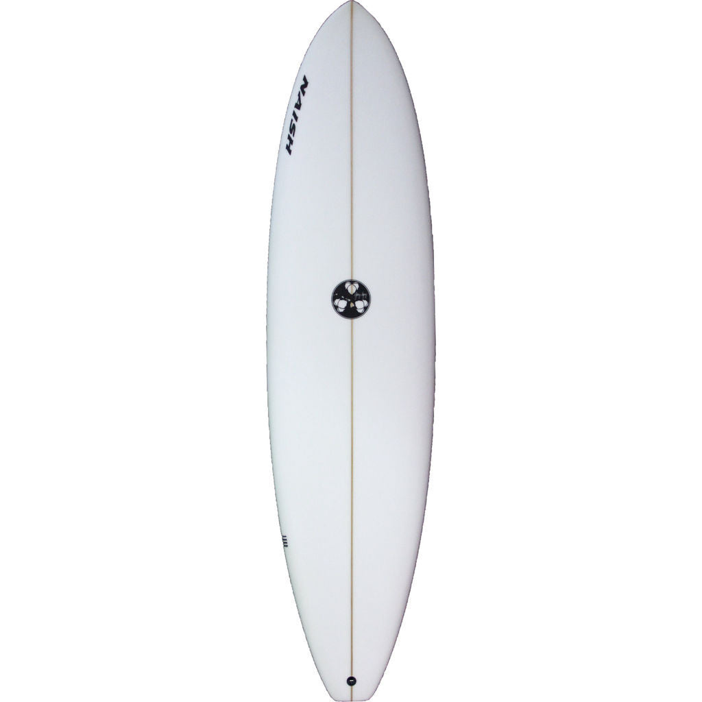 Naish Gerry Lopez Funboard Surfboard in White - Sportique