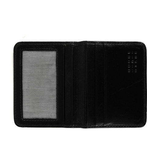 Moore & Giles Card Wallet | Brompton Black