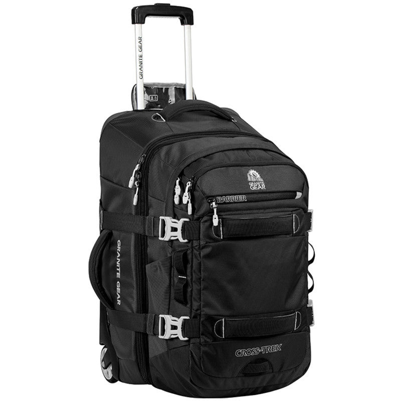 "Granite Gear Cross Trek 22"" Wheeled Carry-on Duffel with Removable Pack 