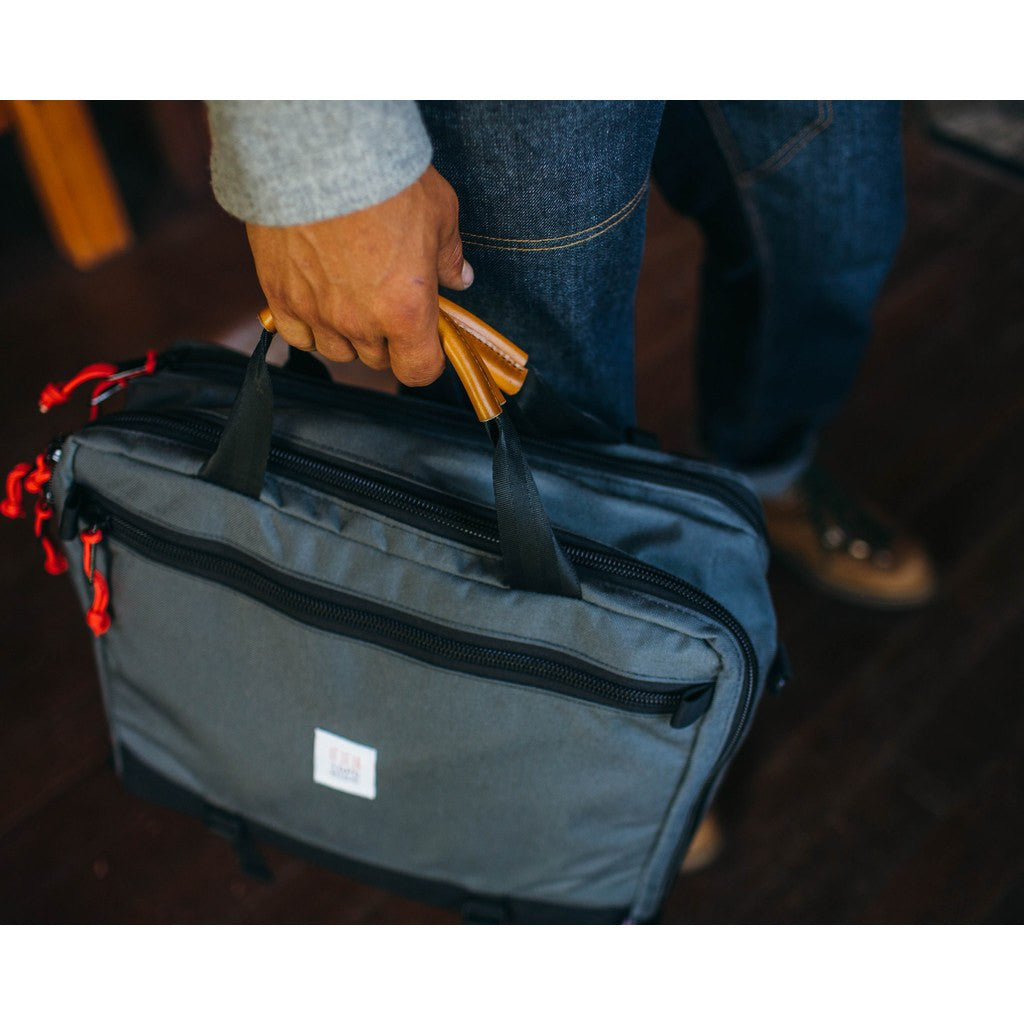 Topo Designs 3-Day Briefcase | Charcoal