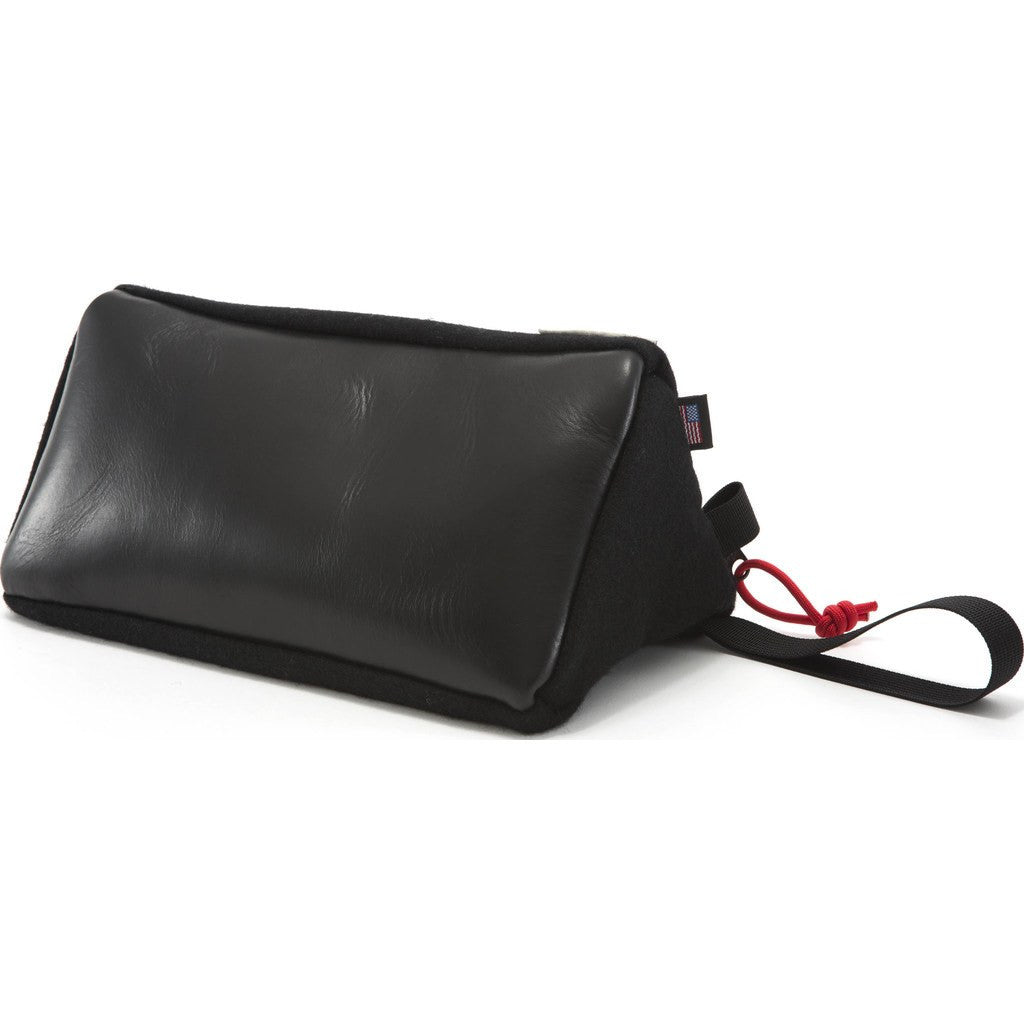 Topo Designs x Woolrich Dopp Kit | Black Wool/Leather