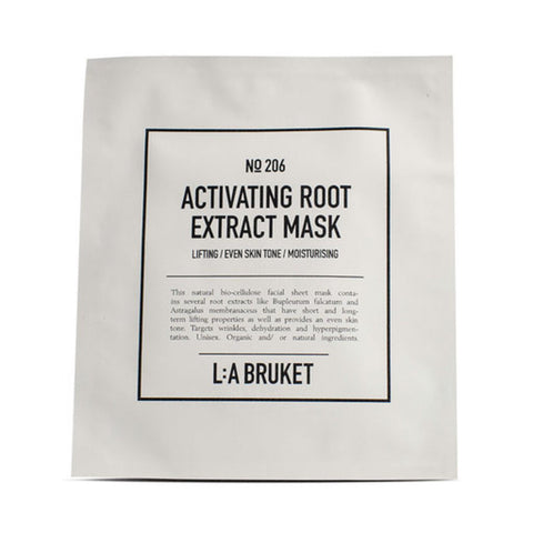 L:A Bruket No 206 Activating Root Extract Mask | 4 Pack