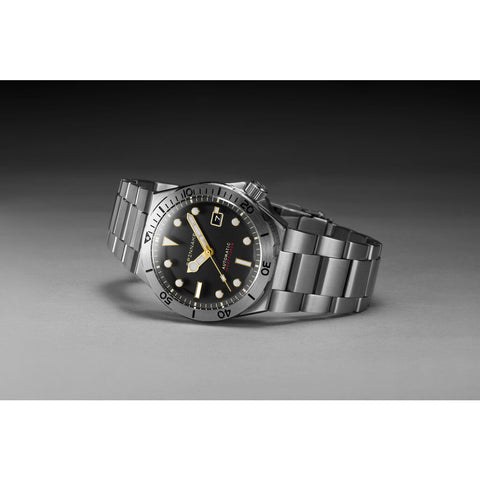 Spinnaker Boettger SP-5083-11 Automatic Watch | Black/Steel