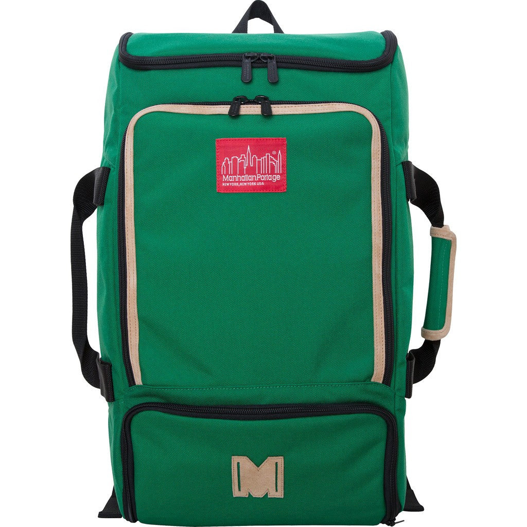 Manhattan Portage Ludlow Duffel Backpack | 2105 BLK / 2105 GRN / 2105 GRY / 2105 MUS / 2105 NVY / 2105 RED