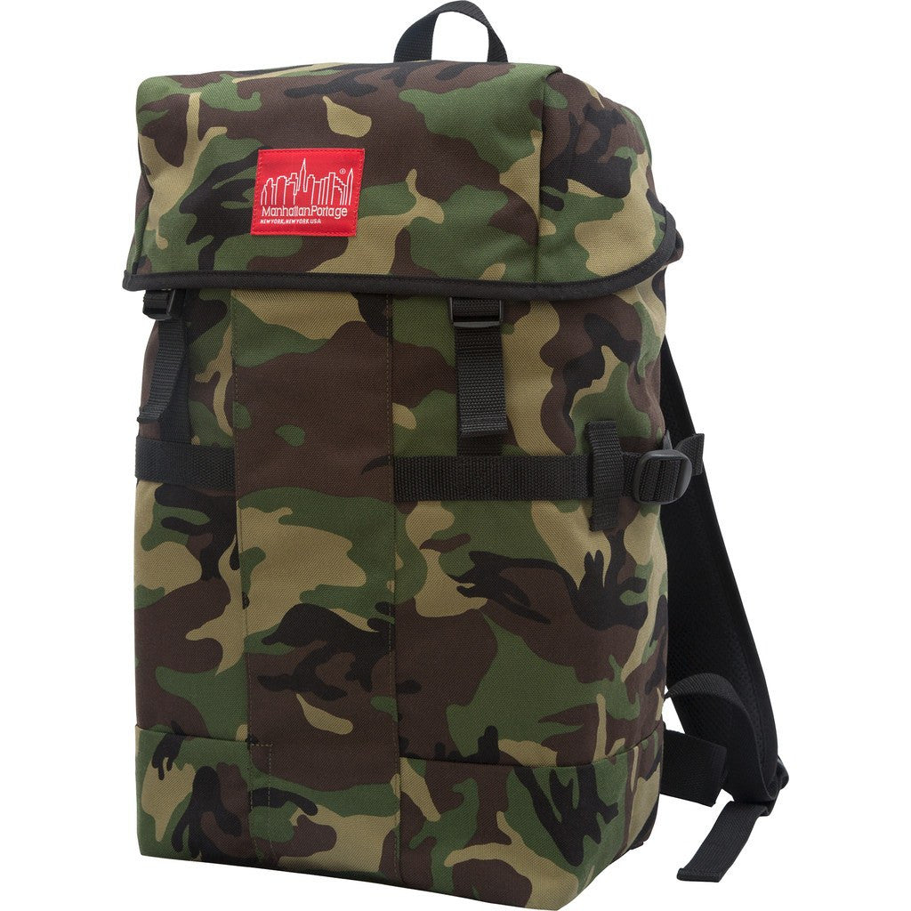 Manhattan Portage Greenbelt Hiking Backpack | 2108 BLK / 2108 CAM / 2108 GRN / 2108 GRY / 2108 MUS / 2108 NVY / 2108 RED