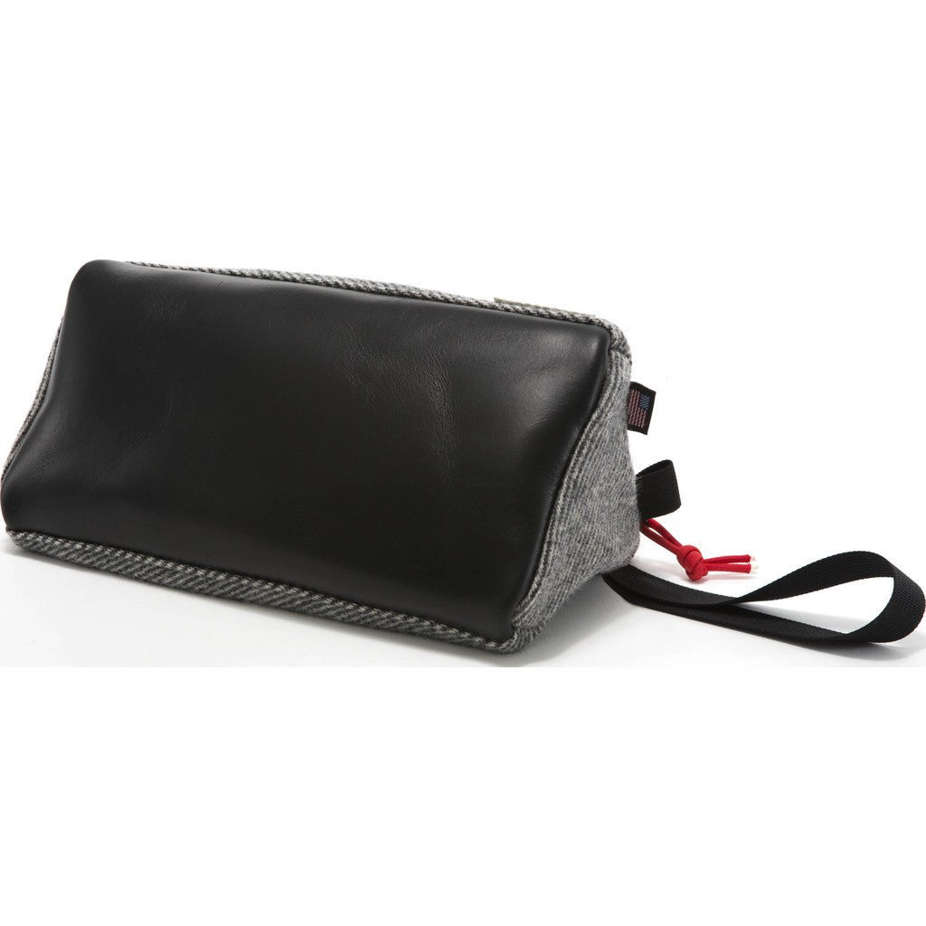 Topo Designs x Woolrich Dopp Kit | Grey Wool/Leather