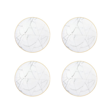 Vista Alegre Carrara Dinner Plate | Set of 4