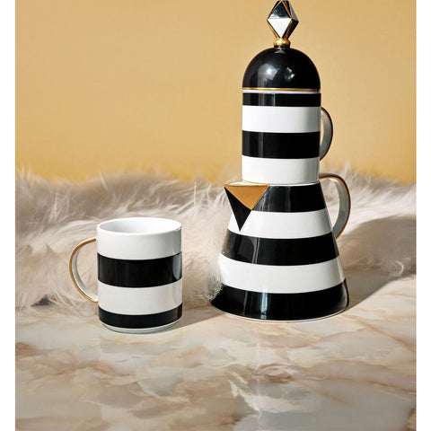 Vista Alegre Pharos Set Tea Pot & 2 Mugs