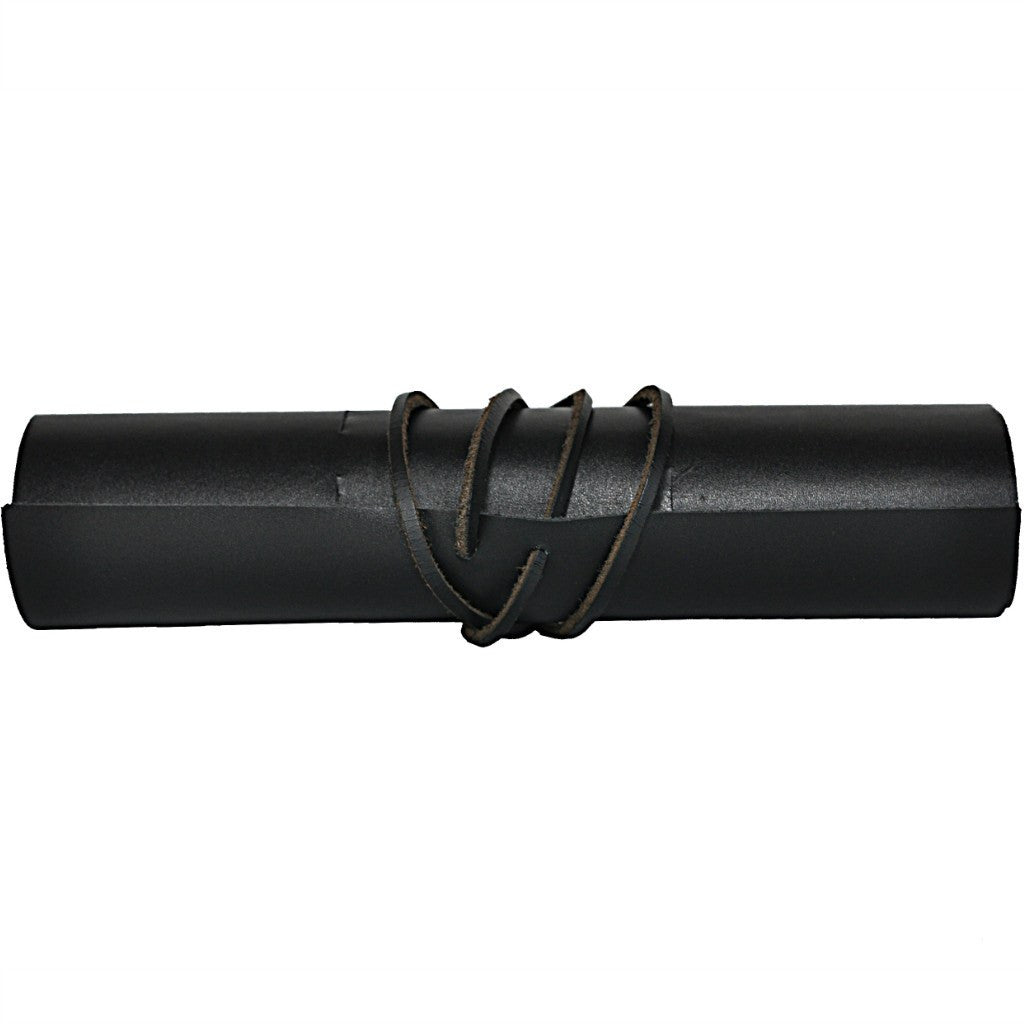 Kiko Leather Pencil Wrap | Black 211