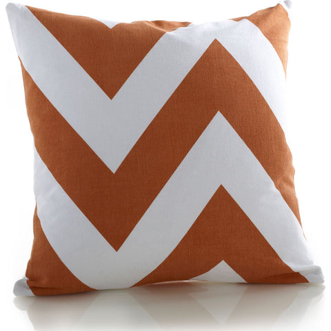Zestt Charlie Pillow with Insert | Ginger- 21352