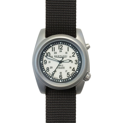 Bertucci A-2SEL Ghost Gray Watch | Black Nylon 22025