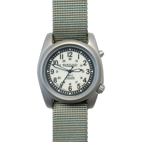 Bertucci A-2SEL Ghost Gray Watch | Defender Drab Nylon 22026