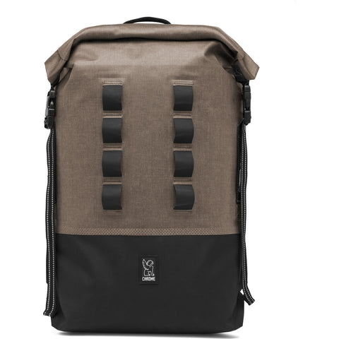 Chrome Urban Ex Rolltop Backpack | 28L Black BG-218-BKBK-NA