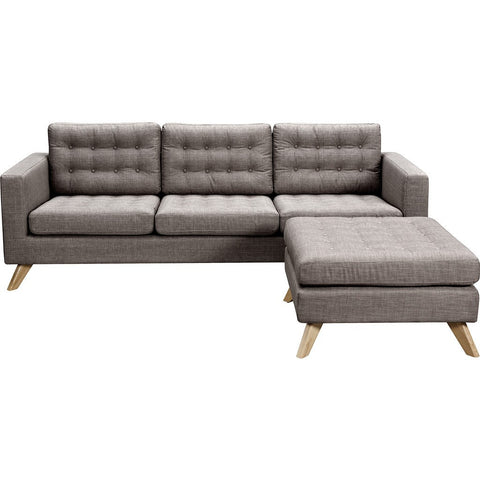 NyeKoncept Mina Sofa Set | Natural/Aluminium Gray 223375-A