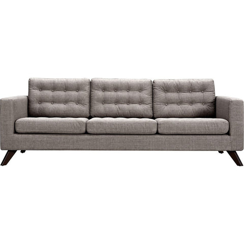 NyeKoncept Mina Sofa Set | Walnut/Aluminium Gray 223375-B