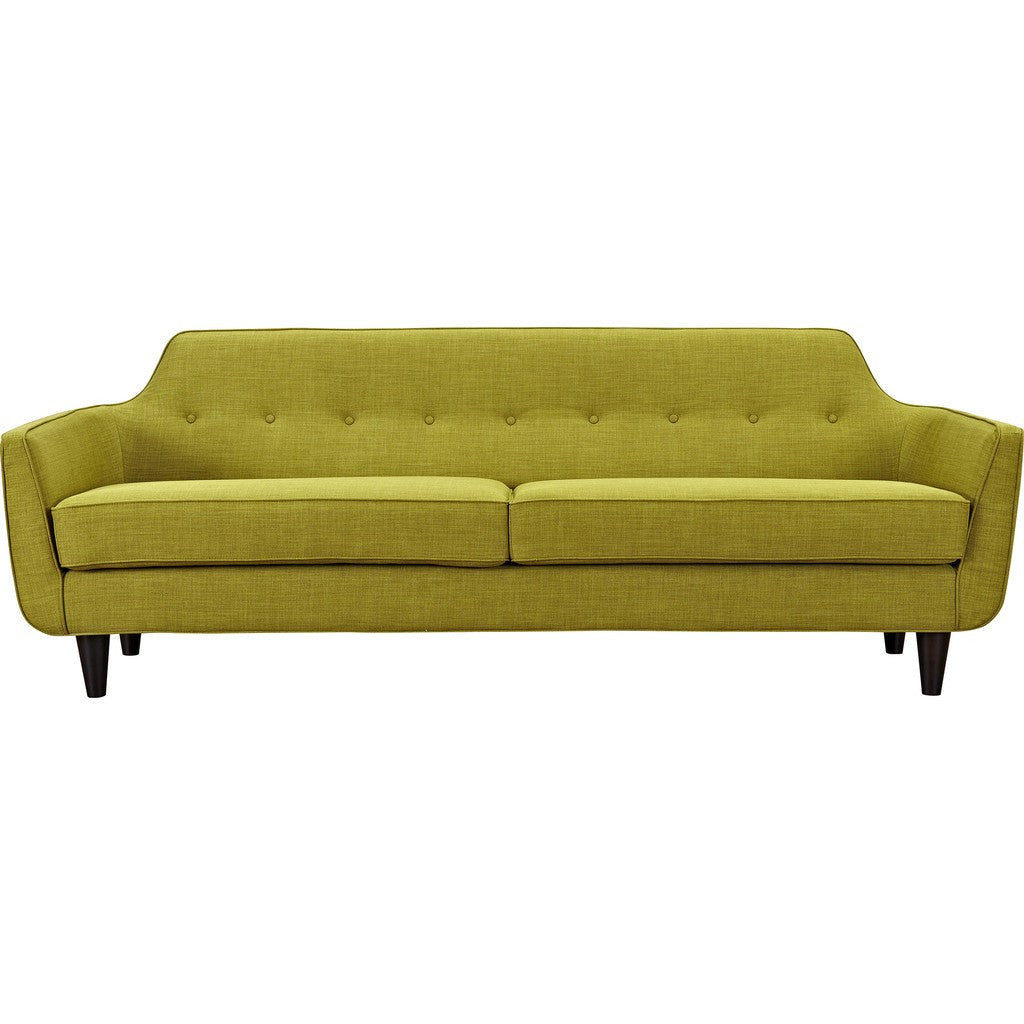 NyeKoncept Agna Sofa | Black/Avocado Green 223385-C