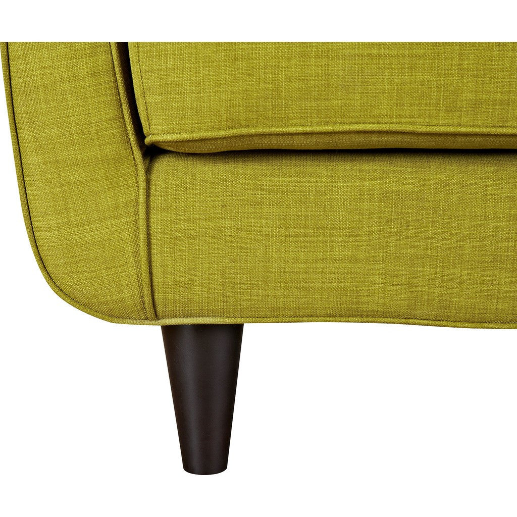 NyeKoncept Agna Armchair | Black/Avocado Green 223386-C