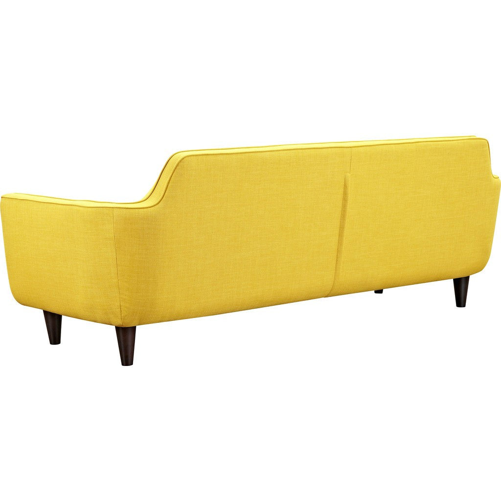 NyeKoncept Agna Sofa | Black/Papaya Yellow 223387-C
