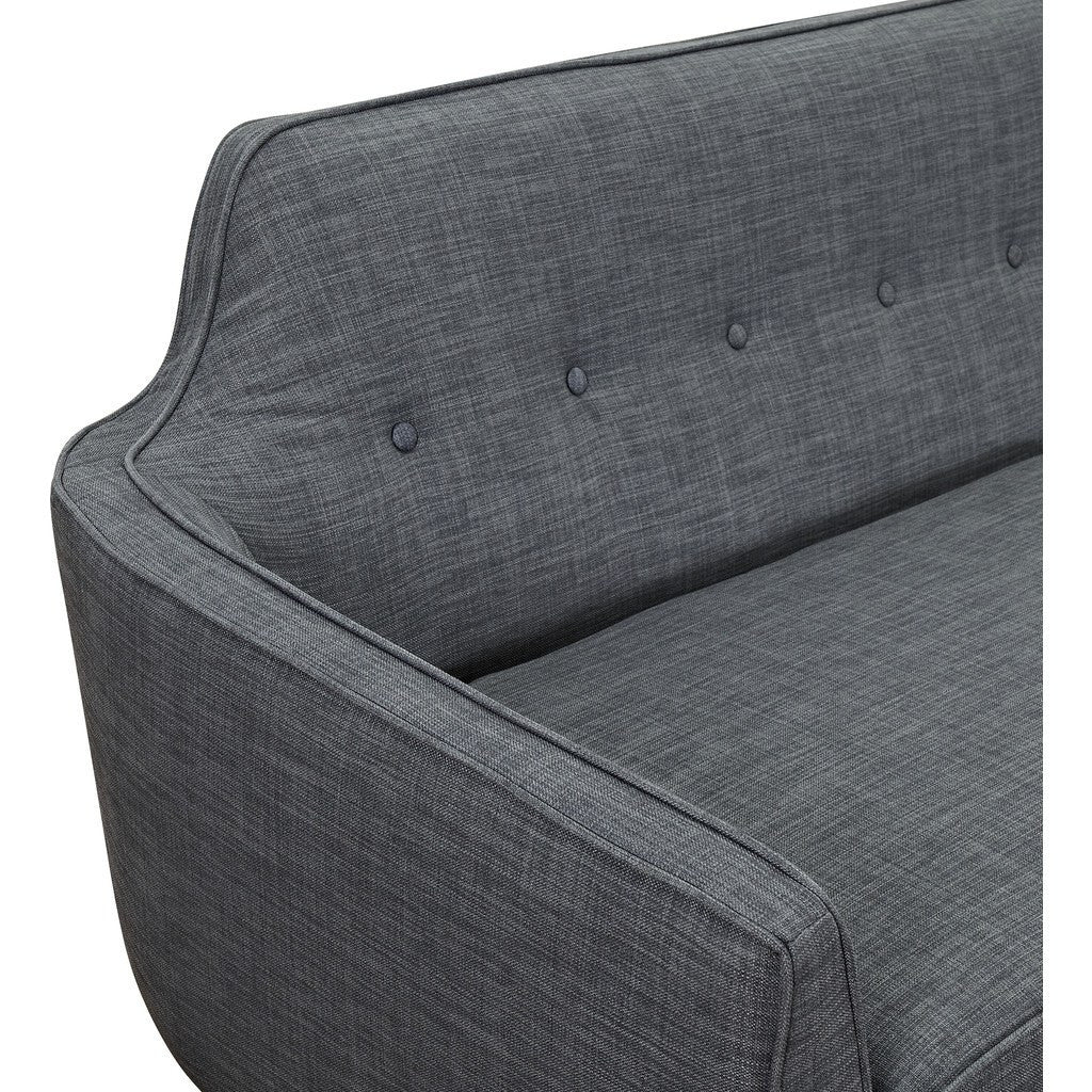 NyeKoncept Agna Sofa | Black/Charcoal Gray 223393-C
