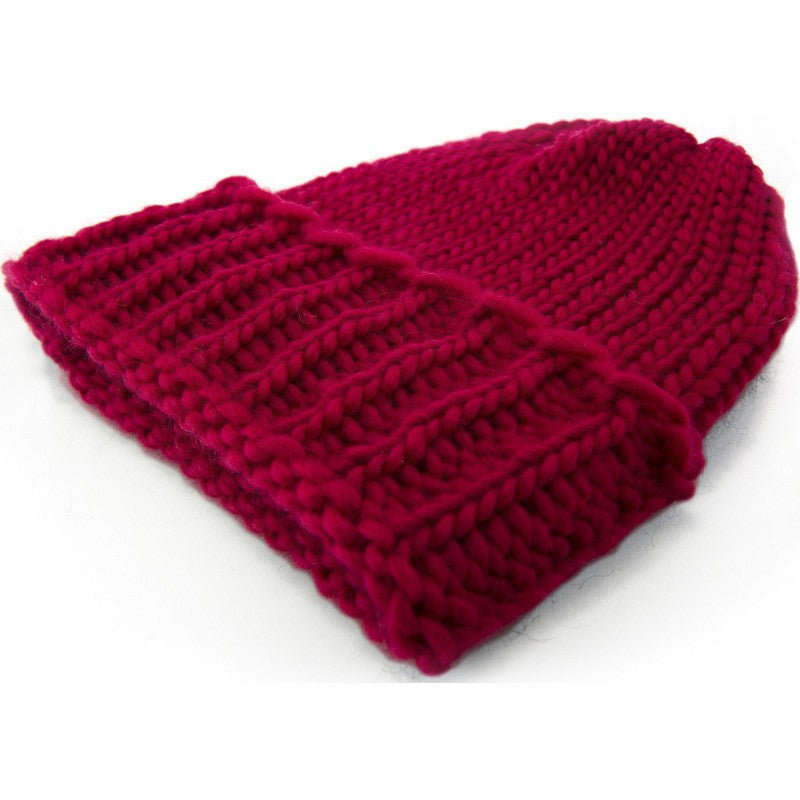 Topo Designs Wool Beanie | Cranberry