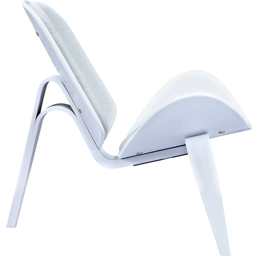 NyeKoncept Shell Chair | White/Gray 224430-A