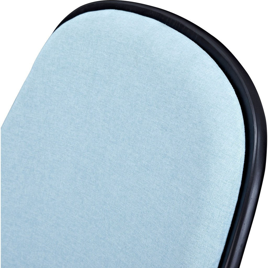 NyeKoncept Shell Chair | Black/Glacier Blue 224431-D
