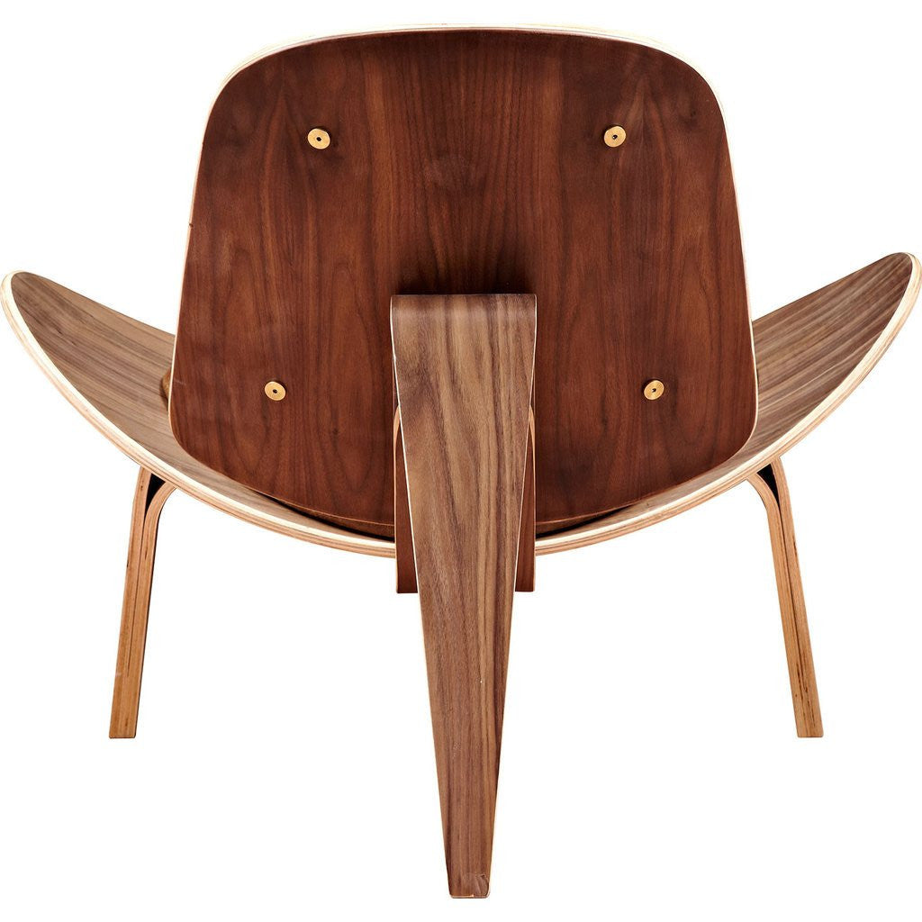 NyeKoncept Shell Chair | Walnut/Palermo Olive 224439-B
