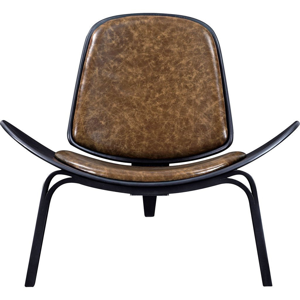 NyeKoncept Shell Chair | Black/Palermo Olive 224439-D